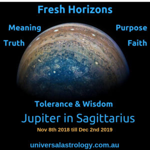 Jupiter in Sagittarius